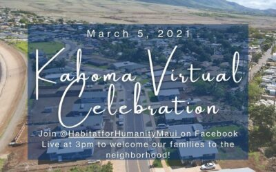 Kahoma Virtual Celebration